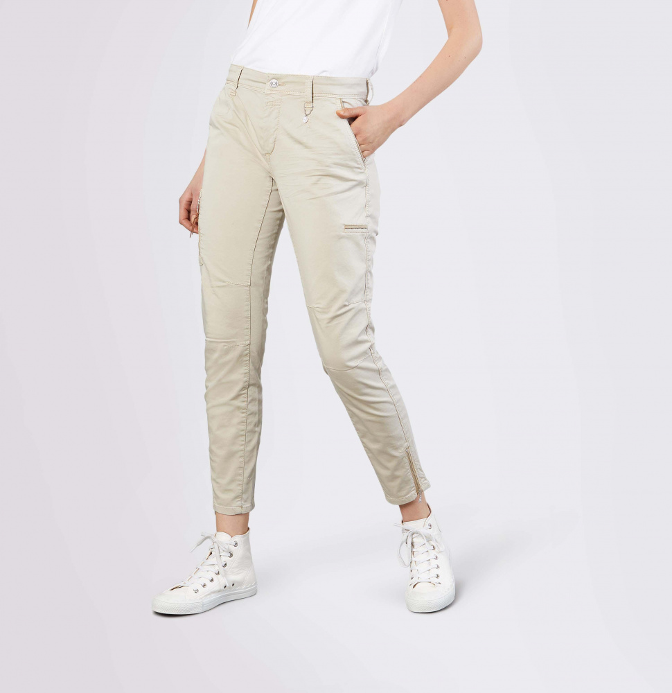 Bilde av MAC - Rich cargo cotton L28 beige